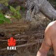 """Xavier dans """"Koh-Lanta, la guerre des chefs"""" (TF1) lors de l'épisode diffusé vendredi 12 avril 2019."""