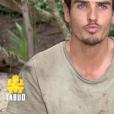 """Aurélien dans """"Koh-Lanta, la guerre des chefs"""" (TF1) lors de l'épisode diffusé vendredi 12 avril 2019."""