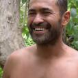 """Mohamed dans """"Koh-Lanta, la guerre des chefs"""" (TF1) lors de l'épisode diffusé vendredi 12 avril 2019."""