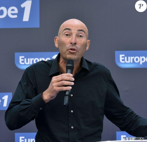 Exclusif - Nicolas Canteloup à la conférence de rentrée de la radio Europe 1 au Musée Maillol à Paris le 13 septembre 2016. © Giancarlo Gorassini / Bestimage