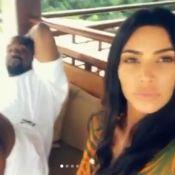 Kim Kardashian : Détendue en vacances avec Kanye West
