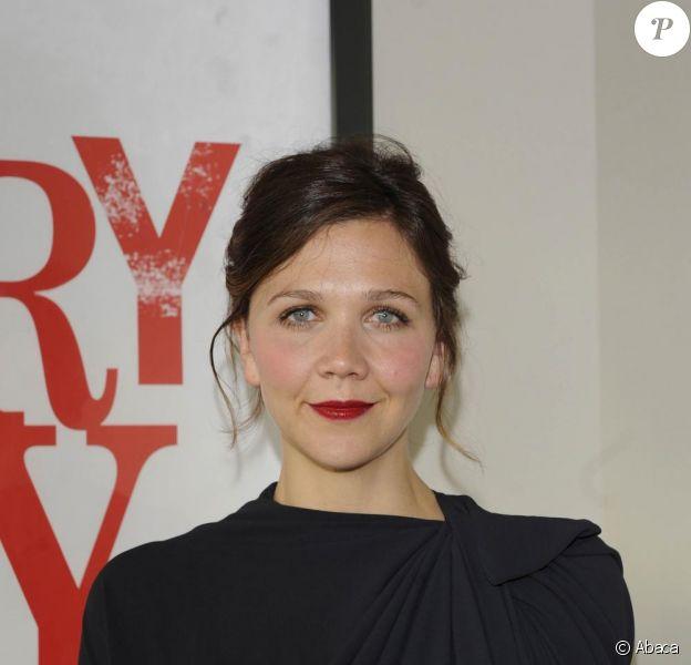 Maggie Gyllenhaal à Paris pour la promo du film SherryBaby, le 12 juin 2009