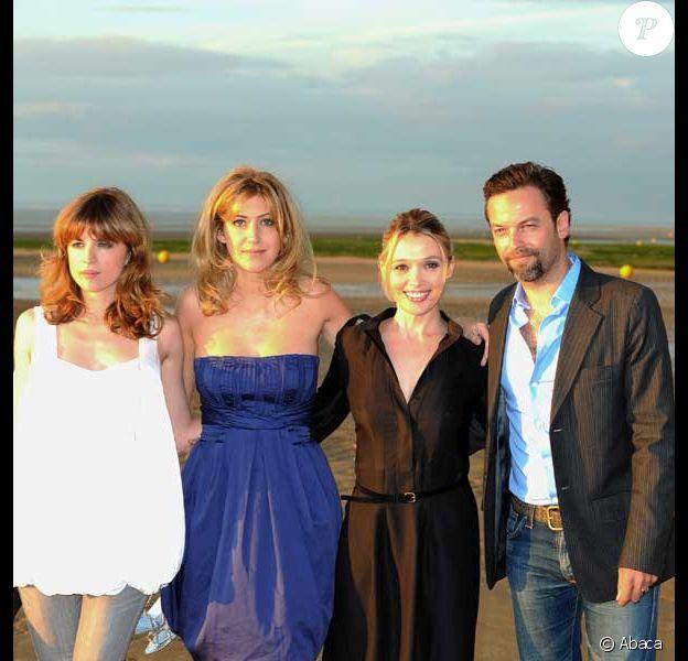 Cecile Cassel, Amanda Sthers, Anne Marivin et Patrick Mille au Festival de Cabourg