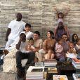 La famille Kardashian au grand complet. Avril 2019.