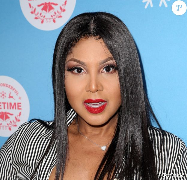 Toni Braxton - People à la soirée Life-Sized Gingerbread House Experience au centre commercial The Grove à Los Angeles le 14 novembre 2018.