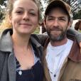 Sophie Perry et son père Luke Perry.