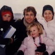 Les deux enfants de Luke Perry, Sophie et Jack, avec leurs parents