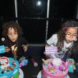 Moroccan et Monroe, les jumeaux de Mariah Carey et Nick Cannon, ont fêté leurs 8 ans. Avril 2019.