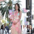 Lucy Liu reçoit son étoile sur le Walk Of Fame dans le quartier de Hollywood à Los Angeles. Révélée par son rôle dans la série Ally McBeal, elle est également célèbre pour son interprétation du Dr Joan Watson dans la série policière Elementary. Le 1er mai 2019