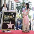 Demi Moore, Lucy Liu - Lucy Liu reçoit son étoile sur le Walk Of Fame dans le quartier de Hollywood à Los Angeles. Révélée par son rôle dans la série Ally McBeal, elle est également célèbre pour son interprétation du Dr Joan Watson dans la série policière Elementary. Le 1er mai 2019