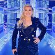 Kelly Clarkson a présenté la cérémonie des Billboard Music Awards 2019. Las Vegas, le 1er mai 2019.