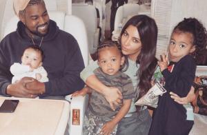 Kim Kardashian, une photo adorable de Saint et Chicago :