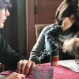 Carla Bruni avec ses enfants, Aurélien et Giulia, sur Instagram le 5 janvier 2018.