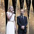 Asghar Farhadi et Lily-Rose Depp - Cérémonie d'ouverture du 70ème Festival International du Film de Cannes. Le 17 mai 2017 © Borde-Jacovides-Moreau / Bestimage