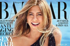 Jennifer Aniston pose topless : explosive et sensuelle pour Harper's Bazaar