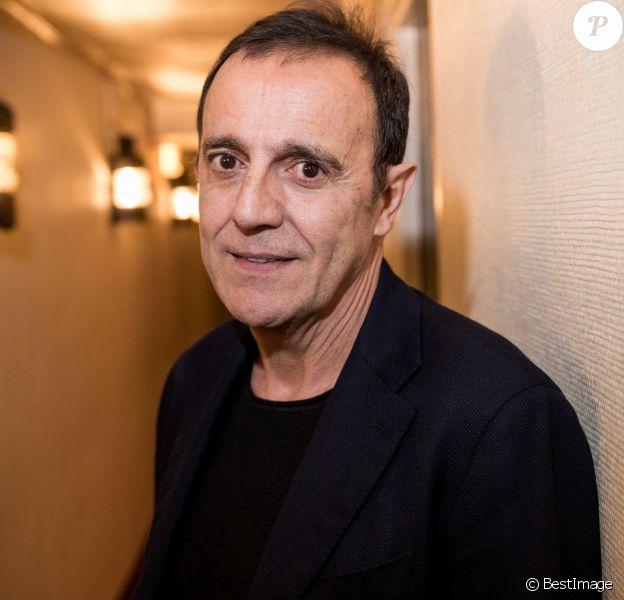 Exclusif - Thierry Beccaro - Backstage de la soirée Innocence Forever au théâtre du gymnase à Paris le 26 novembre 2018. . © Cyril Moreau-Pierre Perusseau/Bestimage