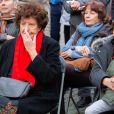 Exclusif - Jeannie Patureaux, la mère de Maurane-Inauguration du square Maurane, un an après sa mort, à Schaerbeekprès de Bruxelles, Belgique, le 7 mai 2019. © Alain Rolland / Imagebuzz / Bestimage