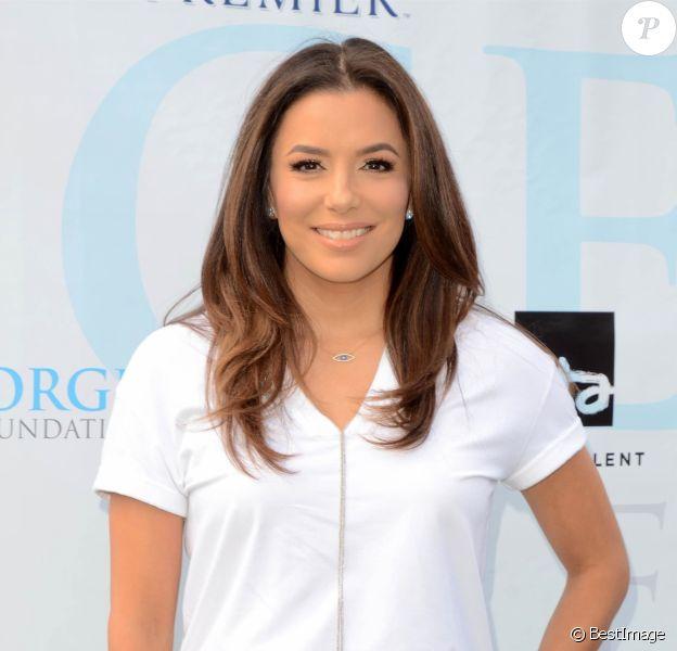Eva Longoria - Célébrités participent à la compétition de golf organisée par la Fondation George Lopez au Country Club de Burbank le 5 mai 2019.