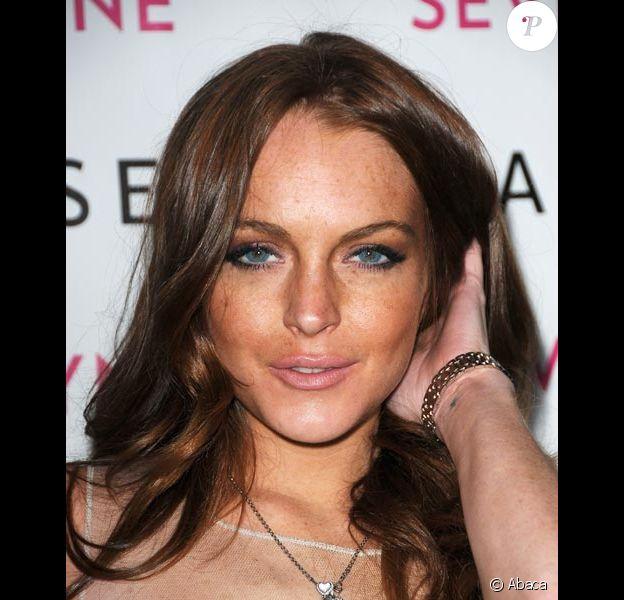 Lindsay Lohan en avril 2009