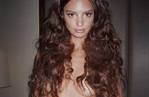 Emily Ratajkowski : De toute beauté et entièrement nue avant le Met Gala