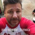 """Tournage de """"Fort Boyard"""" du vendredi 10 mai 2019 avec Elodie Gossuin, Bruno Guillon, Laurent Maistret, Camille Lacourt, Gérard Vives et Anna-Gaëlle Riccio"""