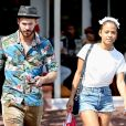 Christina Milian et son compagnon M. Pokora sont allés faire des courses chez Fred Segal à West Hollywood, le 11 mai 2019.
