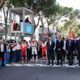 Le prince Albert II de Monaco, Michel Boeri, président de l'Automobile Club de Monaco, Alberto Longo- 3ème Monaco E-Prix, Monaco, le 11 mai 2019. © Claudia Albuquerque / Bestimage
