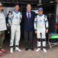 Le prince Albert II de Monaco, Gildo Pastor, Felipe Massa, Edoardo Morata - 3ème Monaco E-Prix, Monaco, le 11 mai 2019. © Bruno Bebert / Bestimage 3