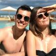"""Charles du """"Meilleur Pâtissier"""" et Ava à l'ïle Maurice - Instagram, 13 mai 2019"""