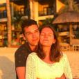 """Charles du """"Meilleur Pâtissier"""" et Ava en vacances à l'ïle Maurice - Instagram, 12 mai 2019"""