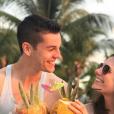 """Charles du """"Meilleur Pâtissier"""" avec sa petite amie Ava à L'île Maurice - Instagram, 8 mai 2019"""