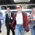 Amber Heard arrive à l'aéroport de Nice en marge de la 72ème édition du Festival de Cannes le 13 mai 2019.