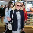 Chloë Sévigny arrive à l'aéroport de Nice en marge de la 72ème édition du Festival de Cannes le 13 mai 2019. © Cyril Dodergny / Nice Matin / Bestimage