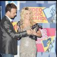 The 2008 MTV Video Music Awards - Le manager Larry Rudolph et Britney Spears 07/09/2008 - Los Angeles
