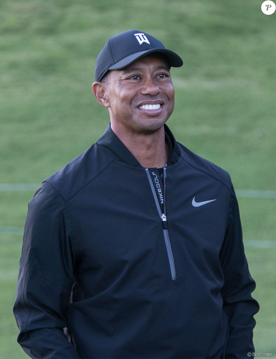 """Tiger Woods pendant le tournoi de golf """"Coupe des Célébrités"""" au Riviera Country Club de Brentwood, à Los Angeles, Californie, Etats-Unis, le 11 février 2019. © Prensa Internaciona/Zuma Press/Bestimage"""