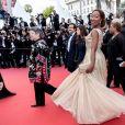 """Nadège Beausson Diagne - Montée des marches du film """"Les Misérables"""" lors du 72ème Festival International du Film de Cannes. Le 15 mai 2019 © Jacovides-Moreau / Bestimage"""