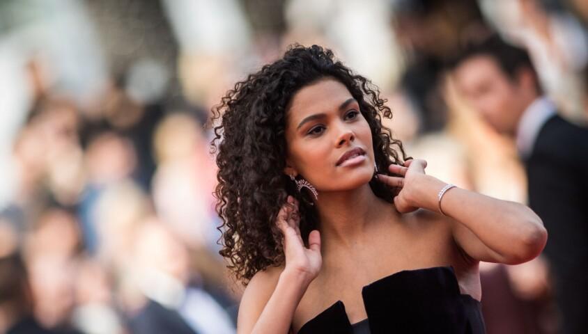 """Tina Kunakey - Montée des marches du film """"Les Misérables"""" lors du 72ème Festival International du Film de Cannes. Le 15 mai 2019 © Jacovides-Moreau / Bestimage"""