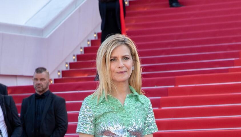 """Marina Foïs - Montée des marches du film """"Les Misérables"""" lors du 72ème Festival International du Film de Cannes. Le 15 mai 2019 © Borde / Bestimage"""