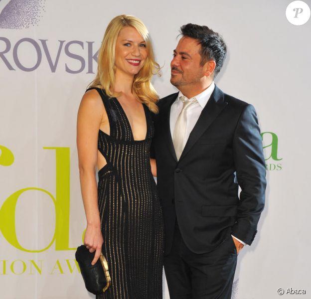 Claire Danes et le créateur Narciso Rodriguez