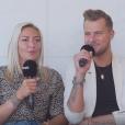"""Tressia et Vincent de """"Moundir 4"""" en interview pour """"Purepeople"""" - 7 mai 2019"""
