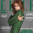 Céline Dion en couverture de ELLE, dans les kiosques le 17 mai 2019.