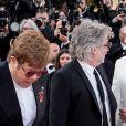 """David Furnish, Elton John (Lunettes Gucci), Taron Egerton, Dexter Fletcher - Montée des marches du film """"Rocketman"""" lors du 72ème Festival International du Film de Cannes. Le 16 mai 2019 © Jacovides-Moreau / Bestimage"""