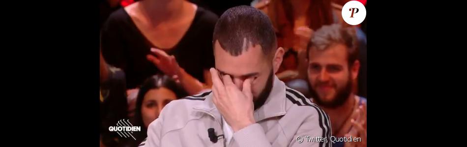 Karim Benzema dans Quotidien (TMC), le jeudi 16 mai 2019.