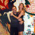 """Paulo Borges et Gisele Bündchen, lors de l'avant-première du documentaire """"Top Models"""", de Richard Luiz, à Sao Paulo, au Brésil, le 15 juin 2009 !"""