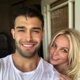 Britney Spears et son compagnon, Sam Asghari, le 17 mai 2019.