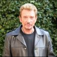 "PHOTOCALL - JOHNNY HALLYDAY A MILAN POUR PARTICIPER A L' EMISSION TV ""CHE TEMPO CHE FA"" 15/10/2007"