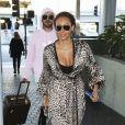 Mel B (Melanie Brown) et Gary Madatyan arrivent à l'aéroport de Los Angeles (LAX), le 7 décembre 2018.