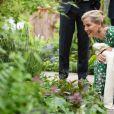 La comtesse Sophie de Wessex au Chelsea Flower Show le 20 mai 2019 à Londres.