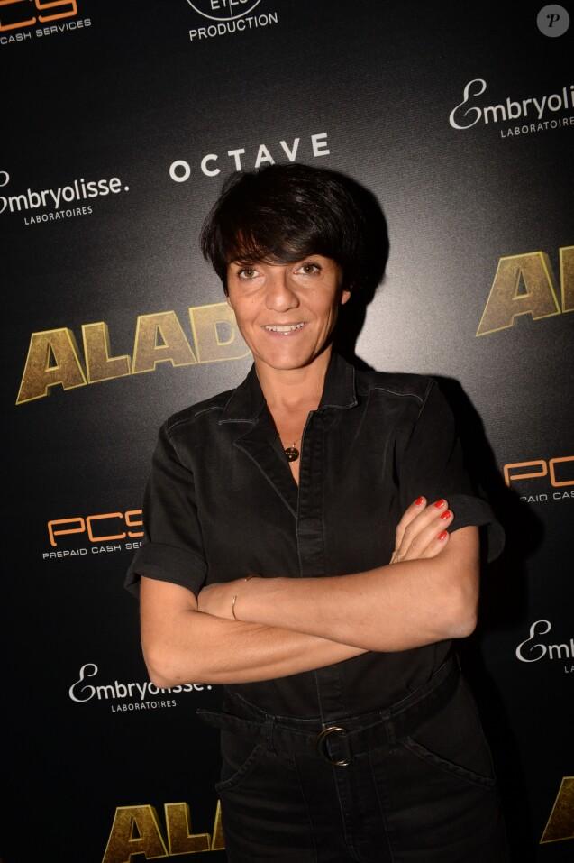 Florence Foresti - Les célébrités posent lors de l'After Party du film Alad'2 au Club Haussman à Paris le 21 septembre 2018. © Rachid Bellak/Bestimage