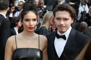 Brooklyn Beckham à Cannes: sa belle Hana en cuir pour une 1re montée des marches